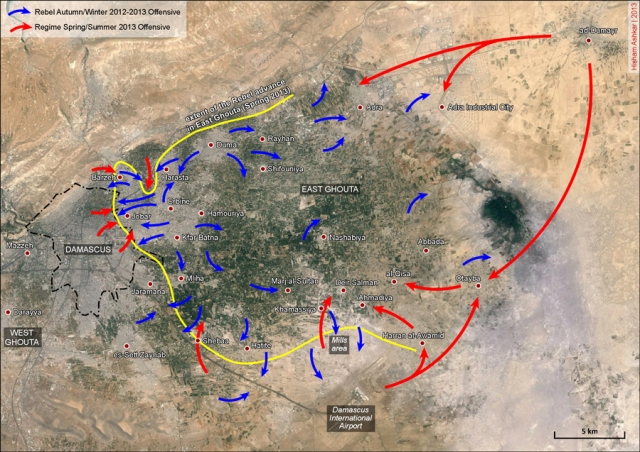 East-Ghouta-offensives